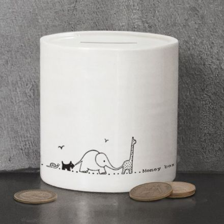 East of India Nursery Animals Money Box